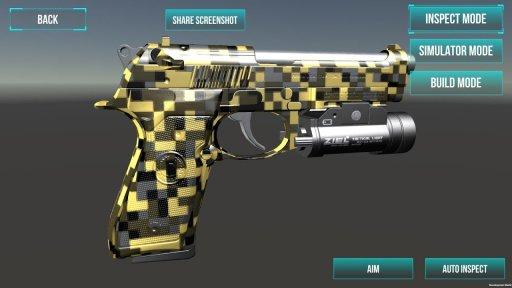 3D Ultimate Gun Simulator Builder screenshot 15