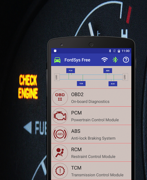 FordSys Scan Free (OBD2 & ELM327) screenshot 2