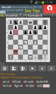 Chess Engines Play Analysis screenshot 2