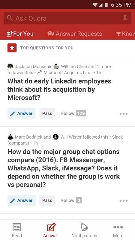 Quora screenshot 2