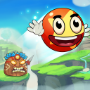 Ball's Journey 6 - Red Bounce Ball Heroes