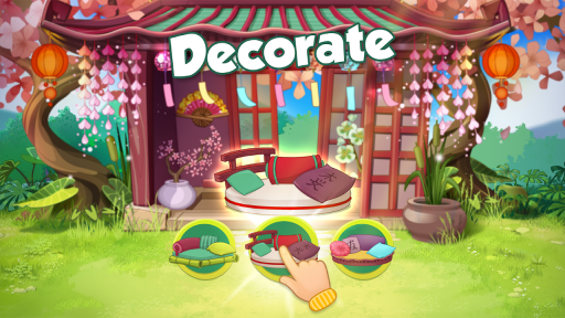 Bloomberry — match-3 design story makeover of home screenshot 9