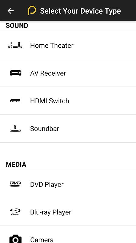 Peel Universal Smart TV Remote Control screenshot 6