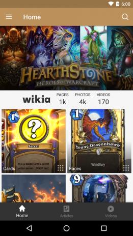 Fandom: Hearthstone 2 6 Download APK for Android - Aptoide