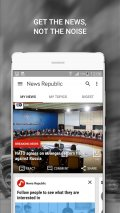 News Republic – Breaking news Screenshot