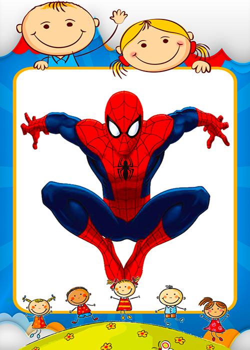 Coloring spiderman Games screenshot 3