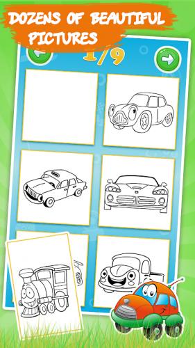 Boyama Kitabi Cocuk Arabalar 1 8 2 Android Apk Sini Indir Aptoide