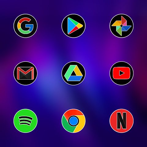PIXEL FLUO - ICON PACK screenshot 1