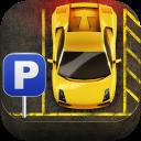 Cartoon Super Car Parking 3D