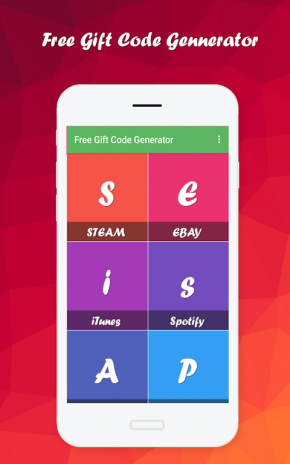 Free Gift Code Generator 1 3 Telecharger L Apk Pour Android Aptoide