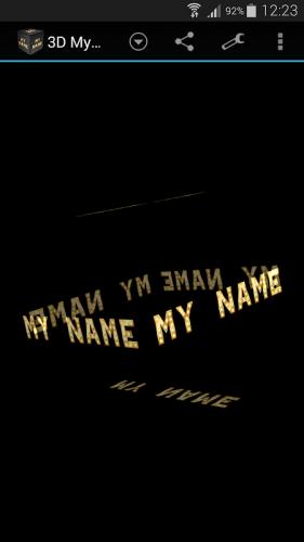 3D My Name Live Wallpaper 2.90 Download