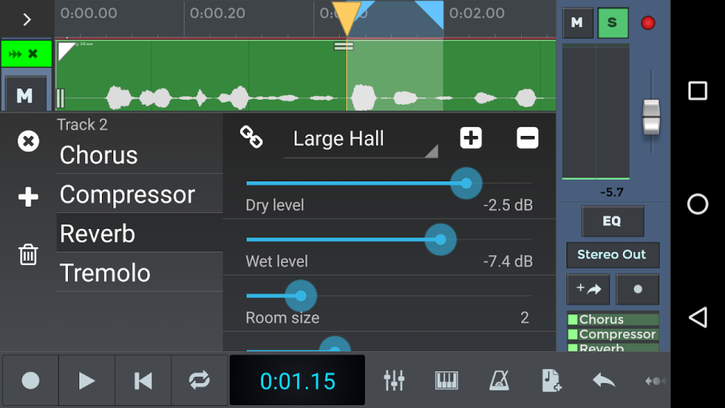 n Track Studio 8 Music DAW | Download APK for Android ...