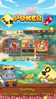 Dummy & Toon Poker Texas slot Online Card Game screenshot 2