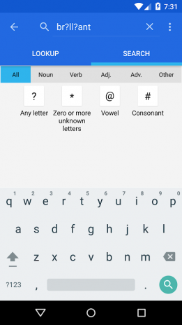 WordWeb Audio Dictionary 3 61 Download APK for Android - Aptoide