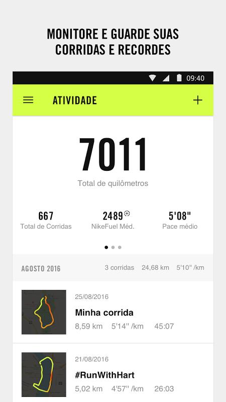 Nike Run Club - Treinar para Corridas & Caminhar screenshot 1
