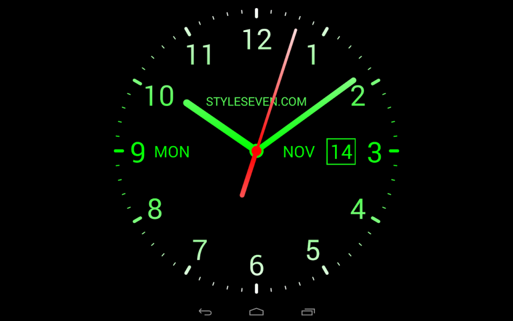 Analog Clock Live Wallpaper7  Download APK for Android