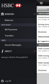 HSBC Mobile Banking screenshot 2