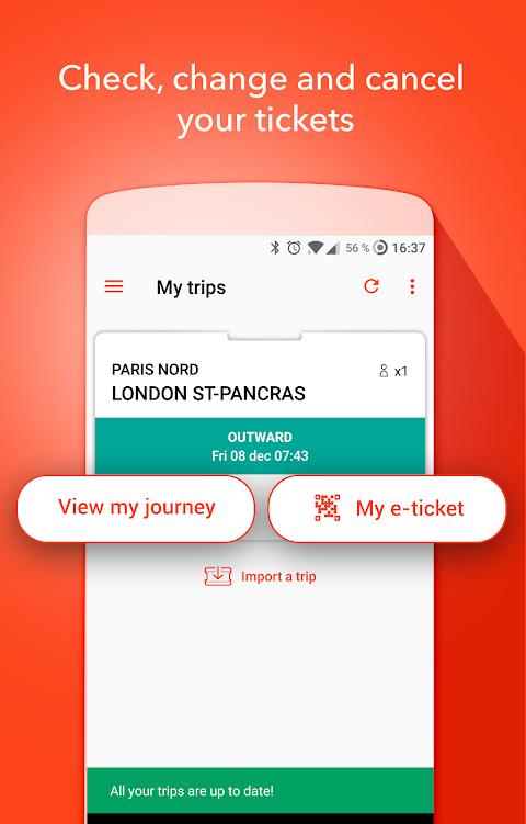 OUI.sncf - Train travel screenshot 3
