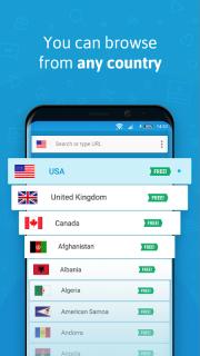 VPN - Hola Free VPN screenshot 3