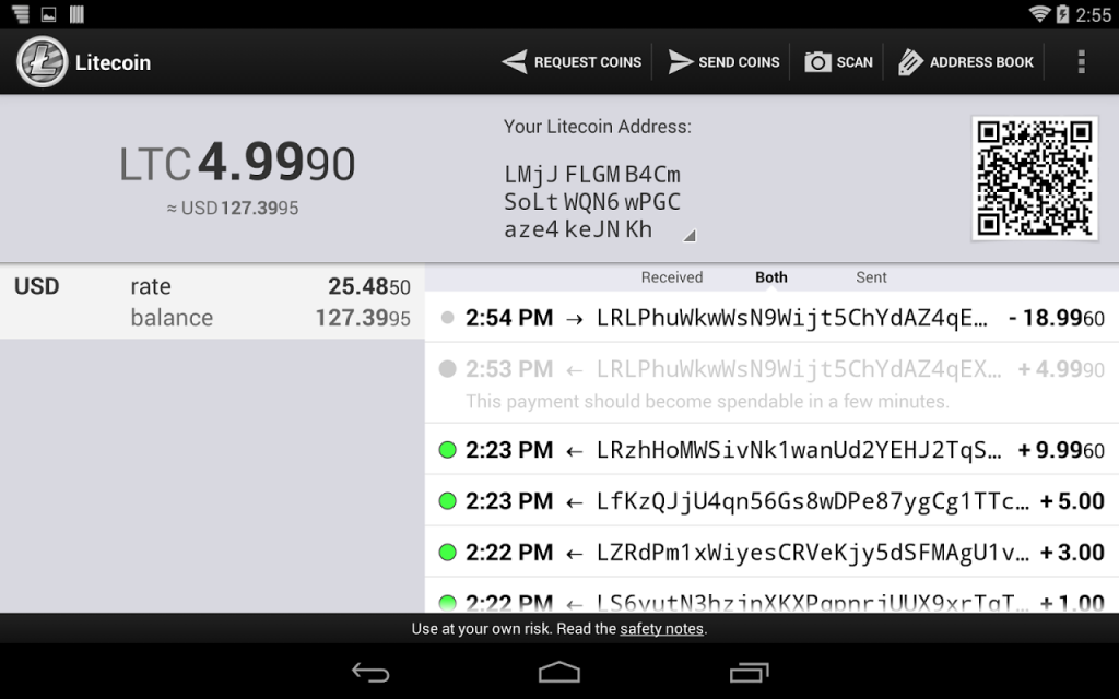 Litecoin Wallet | Download APK for Android - Aptoide
