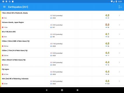 Earthquake Plus - Map, Info, Alerts & News screenshot 1