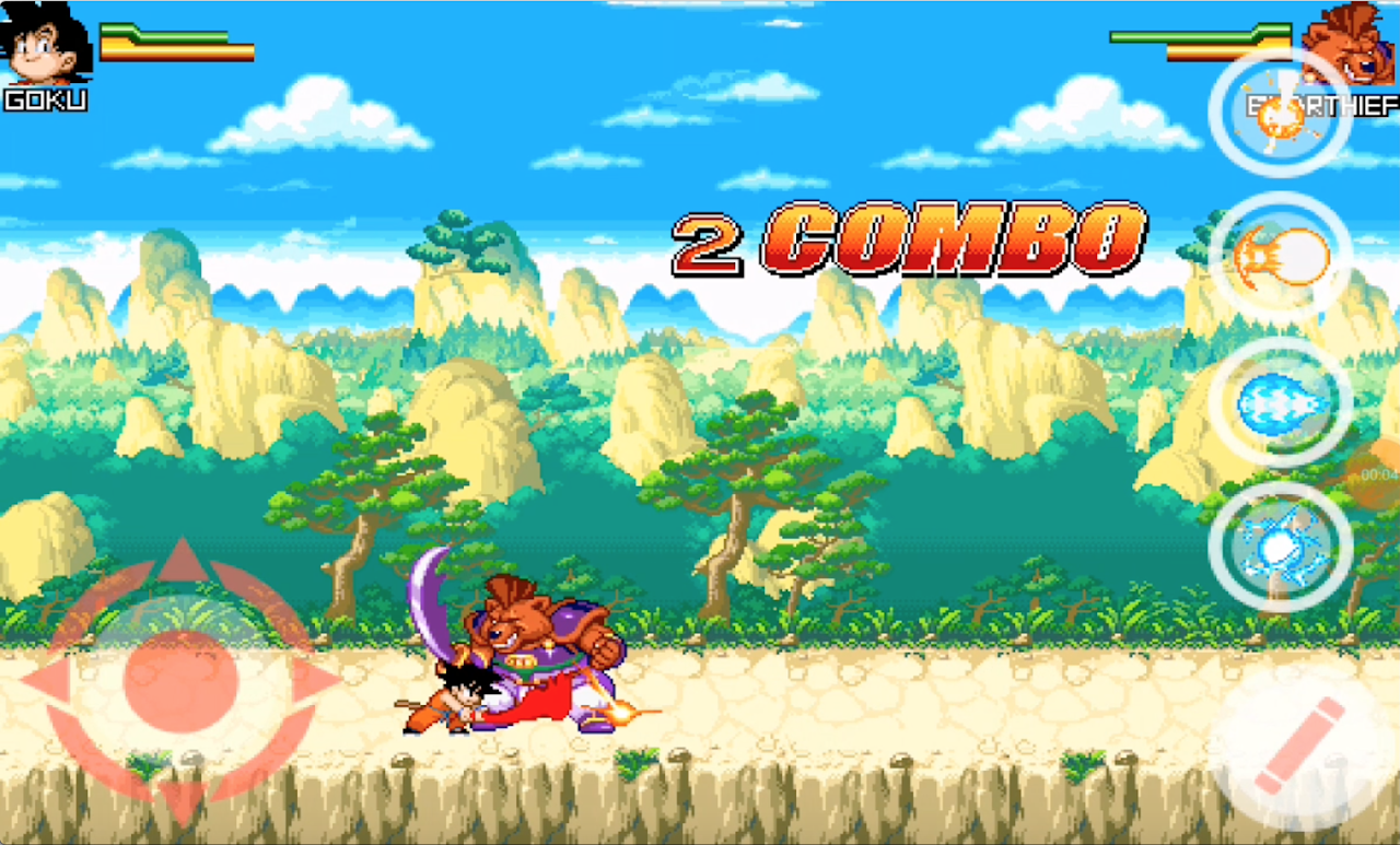 Dragon Goku Kid - Super Saiyan Fighting screenshot 1