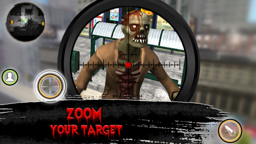 Zombie Sniper - Last Man Stand screenshot 4