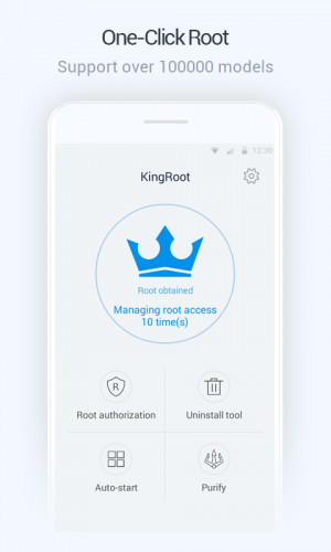KingRoot screenshot 1