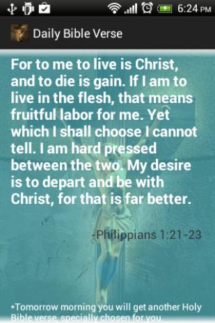 Daily Bible Verses Free 1 07 Laden Sie APK für Android