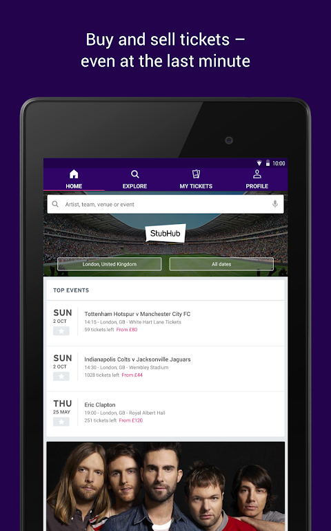 StubHub - Tickets to Sports, Concerts & Events screenshot 11