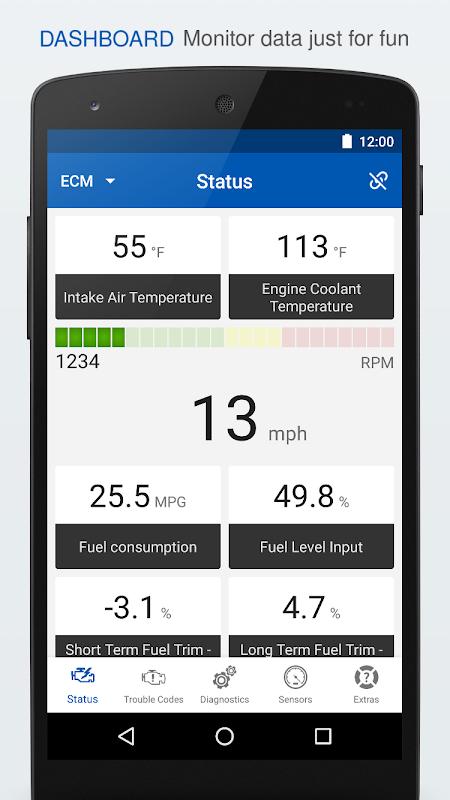 OBD Auto Doctor - ELM327 & OBD2 car scanner tool screenshot 1