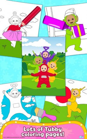 Teletubbies Paint Sparkles Screenshot 4