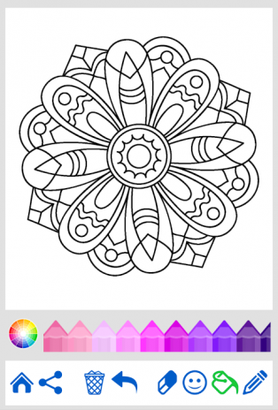 Mandala Coloring For Adults Screenshot 3