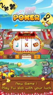 Dummy & Toon Poker Texas slot Online Card Game screenshot 15