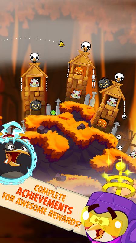 Angry Birds Seasons screenshot 2