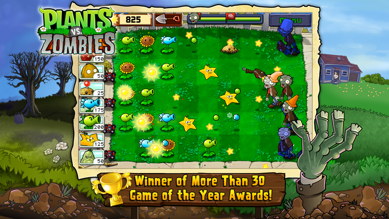 Plants vs. Zombies FREE screenshot 1