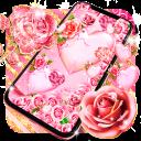 Pink rose gold live wallpaper