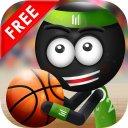 Stickman Trick Shot Basketball