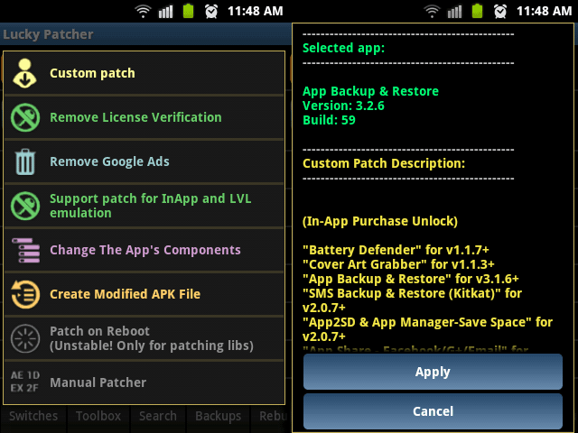 lucky patcher no root bahasa indo