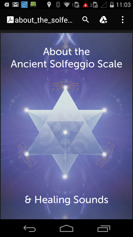 852hz Solfeggio Sonic Meditation screenshot 1