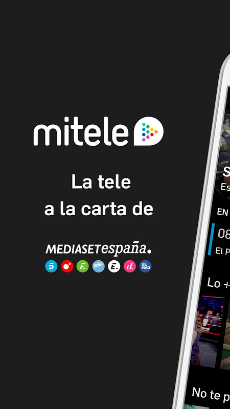 Mitele - Mediaset Spain VOD TV screenshot 1