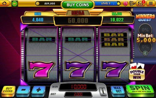 Win Vegas Casino - 777 Slots & Pub Fruit Machines screenshot 9