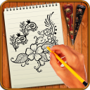 Learn to Draw Henna Designs & Tattoos