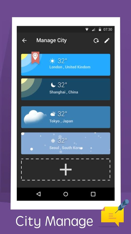 Weather - Simplicity Weather screenshot 2
