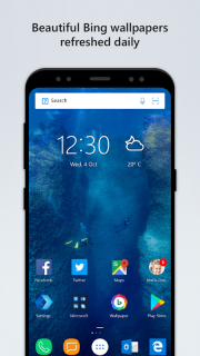 Microsoft Launcher screenshot 1