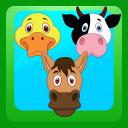 Match 3 Farm Animals