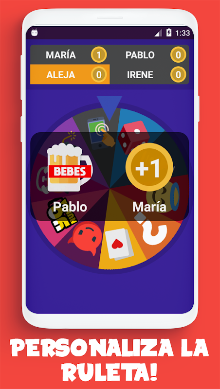 Ruleto - Verdad o Reto, Yo Nunca, Juego para beber screenshot 2