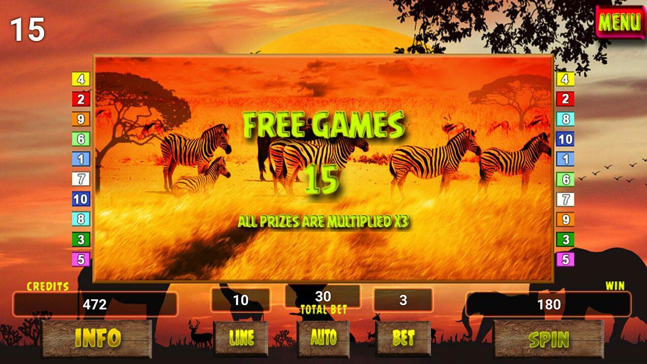 Safari Tour Slot screenshot 2