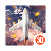 3D Theme - Aircraft Combat Cool 3D Wallpaper
