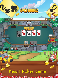 Dummy & Toon Poker Texas slot Online Card Game screenshot 13